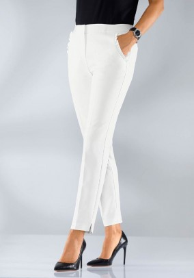 Trousers with ruffles, eru