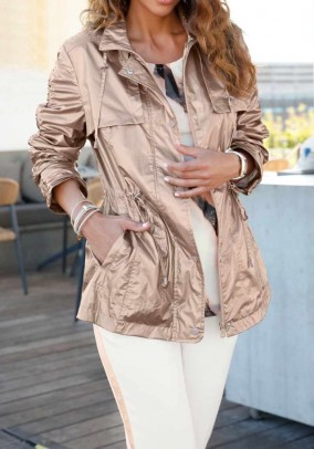 Jacket, powder metallic