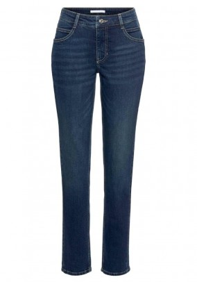 7/8 cropped jeans, blue-used, 26inch