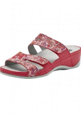 House slipper, red