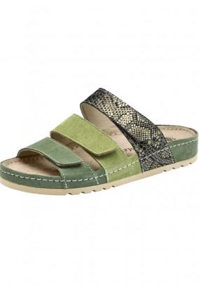 House shoe, green