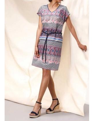 Marga šilkinė suknelė