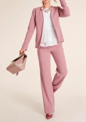 Trouser suit, rose