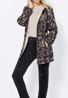 Reversible jacket, multicolour-rose