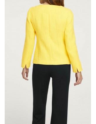 Elegantiškas geltonas švarkelis