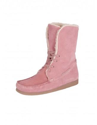 Rožiniai odiniai mokasinai