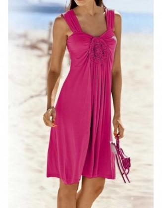 """Uogų spalvos laisvalaikio suknelė """"Jersey"""""""
