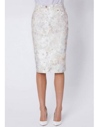 Šviesus pastelinis sijonas...