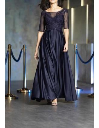 """Mėlyna vakarinė suknelė """"Perl"""""""