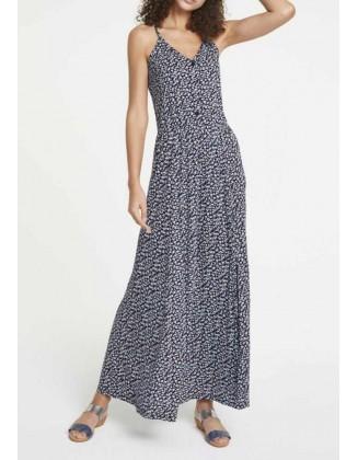 Maxi ilgio mėlyna suknelė...