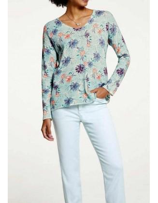 Margas pastelinis megztinis