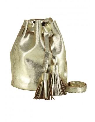 Aukso spalvos rankinė