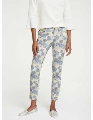 Mėlyni pasteliniai džinsai