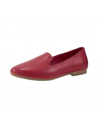 Raudoni odiniai bateliai...