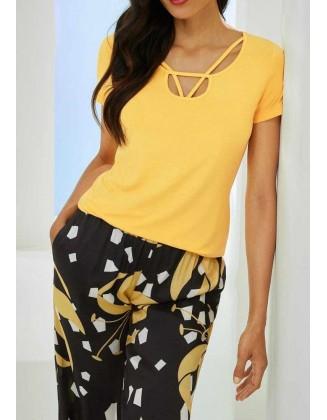 Geltoni marškinėliai