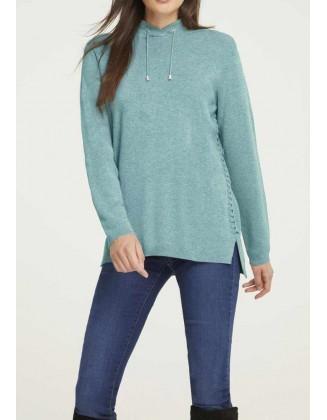 Mėtinis megztinis su...
