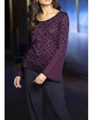 """Violetinis megztinis """"Navy"""""""