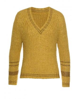 Geltonas megztinis su vilna