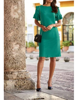 """Žalia suknelė """"Emerald"""""""