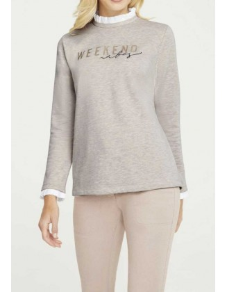 "Smėlinis megztinis ""Two"""