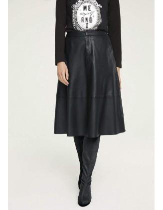 """Juodas odinis sijonas """"Hill"""""""