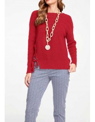 """Raudonas megztinis """"Lacy"""""""