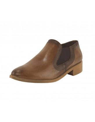 """Rudi odiniai batai """"Cognac"""""""