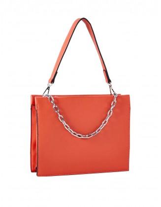 Oranžinė rankinė