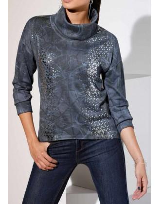 "Mėlynas megztinis ""Modern"""