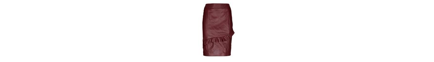 Odiniai sijonai internetu / natūralios odos sijonai